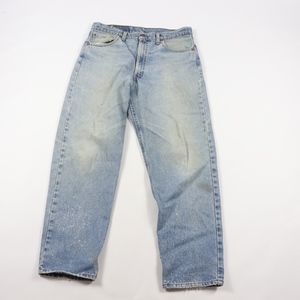 90s Levis Mens 36x30 550 Distressed Relaxed Jeans
